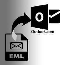 import EML file to Outlook.com