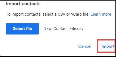 Copy Outlook contacts to Gmail