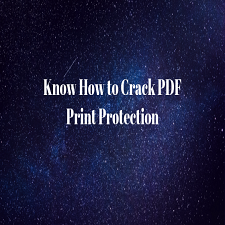 crack pdf print password
