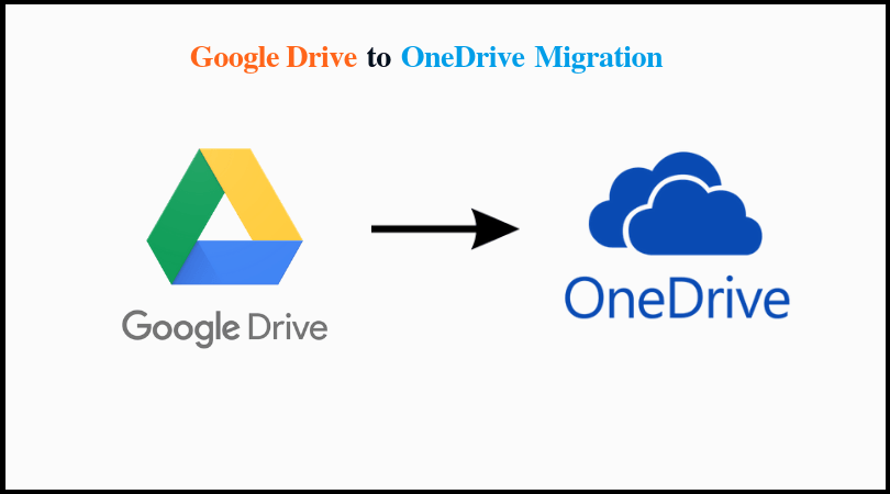 google drive to OneDrive