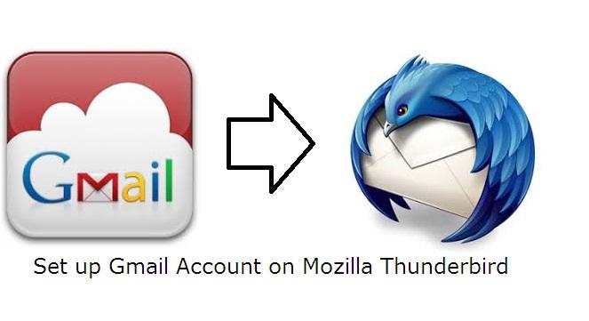 setup gmail IMAP in thunderbird