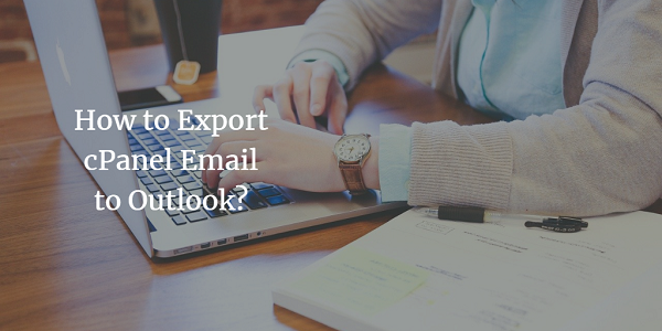 export email from cpanel to outlook