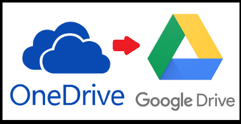 copy data from onedrive to google drive