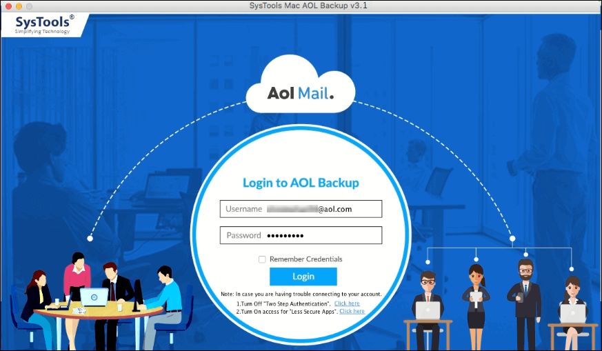 AOL mail account