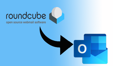 how to convert roundcube to outlook