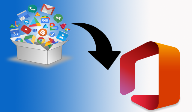 Migrate Google Takeout to Office 365