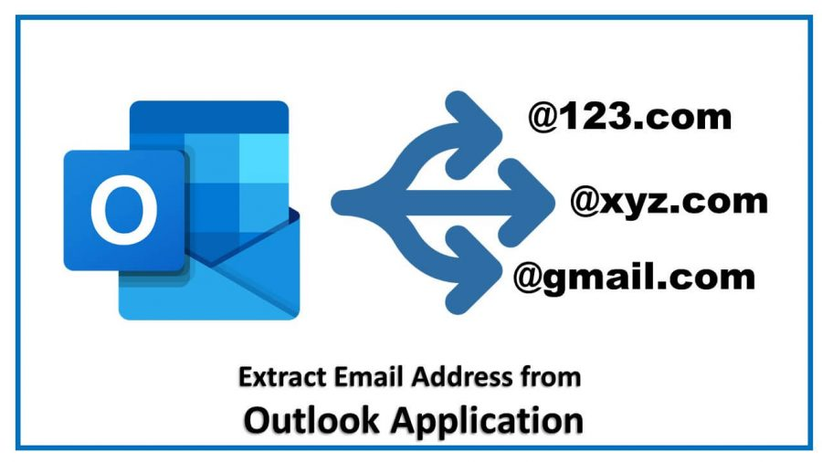 extract mail id from outlook