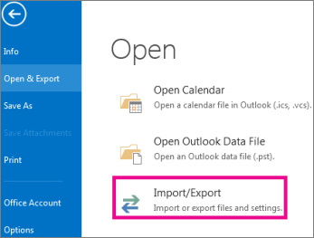 open-and-export