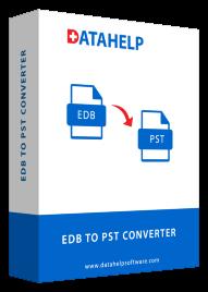 DataHelp EDB to PST Converter box