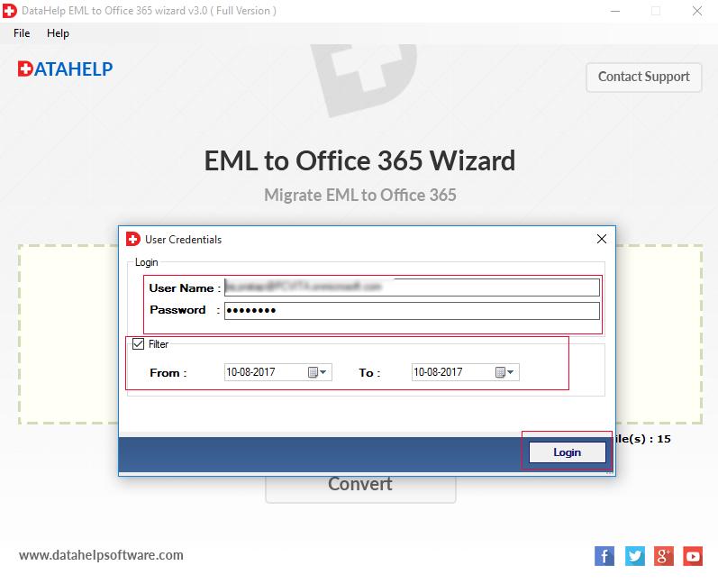 Office 365 filter