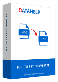DataHelp MSG to PST Converter box