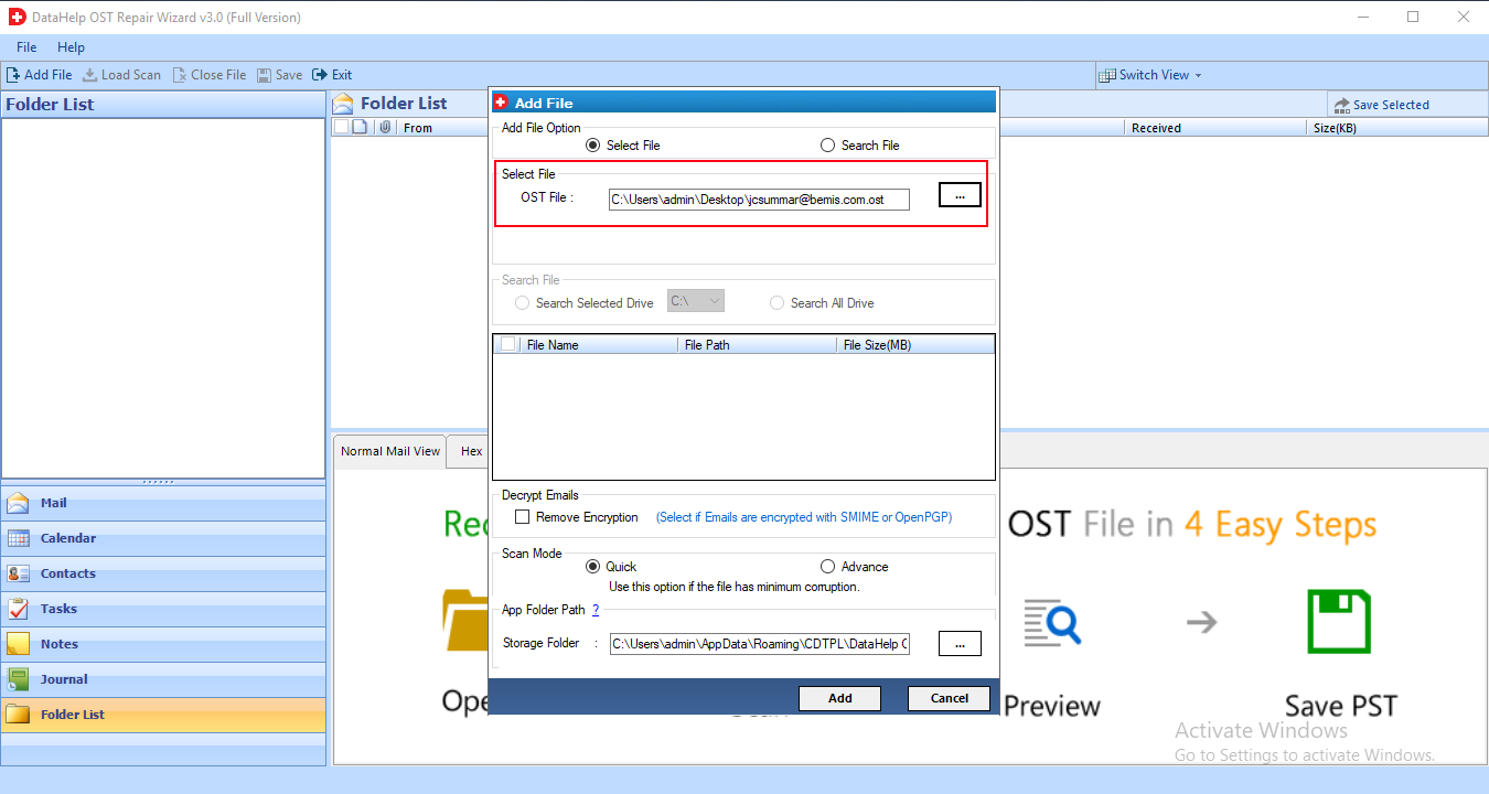OST Repair Tool to Recover Deleted Emails & Repair Corrupted