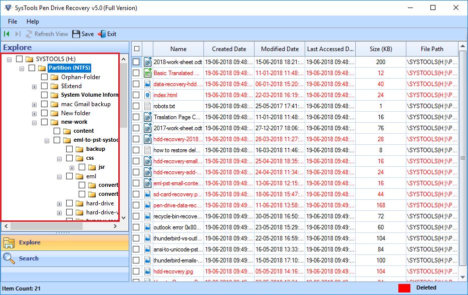 retrieve lost files from usb flash drive