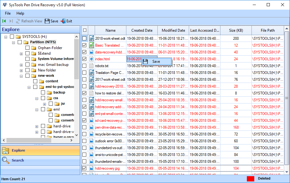 recover lost data from usb flash drive